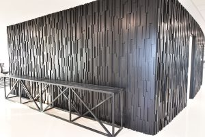 commercial feature wall materials