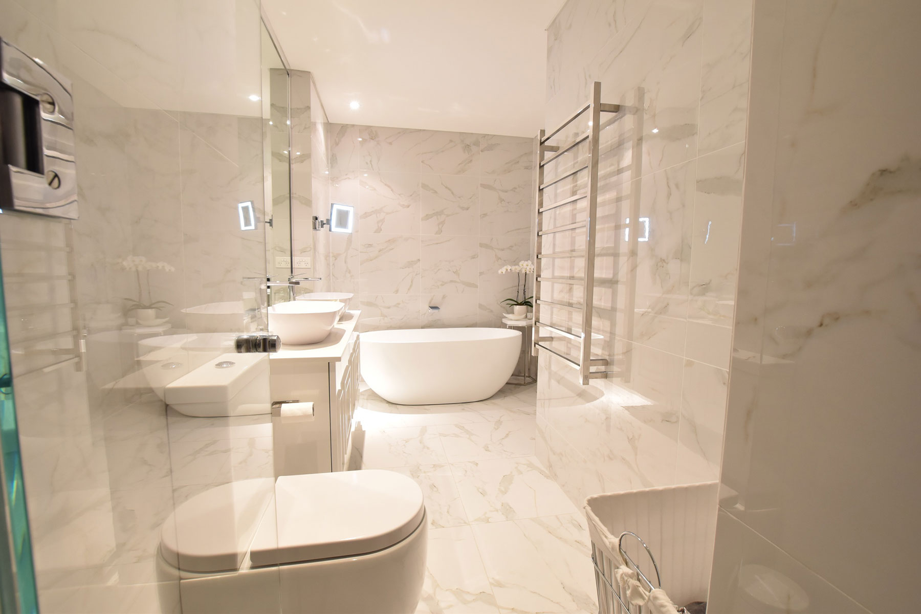 interior designer bathroom double bay