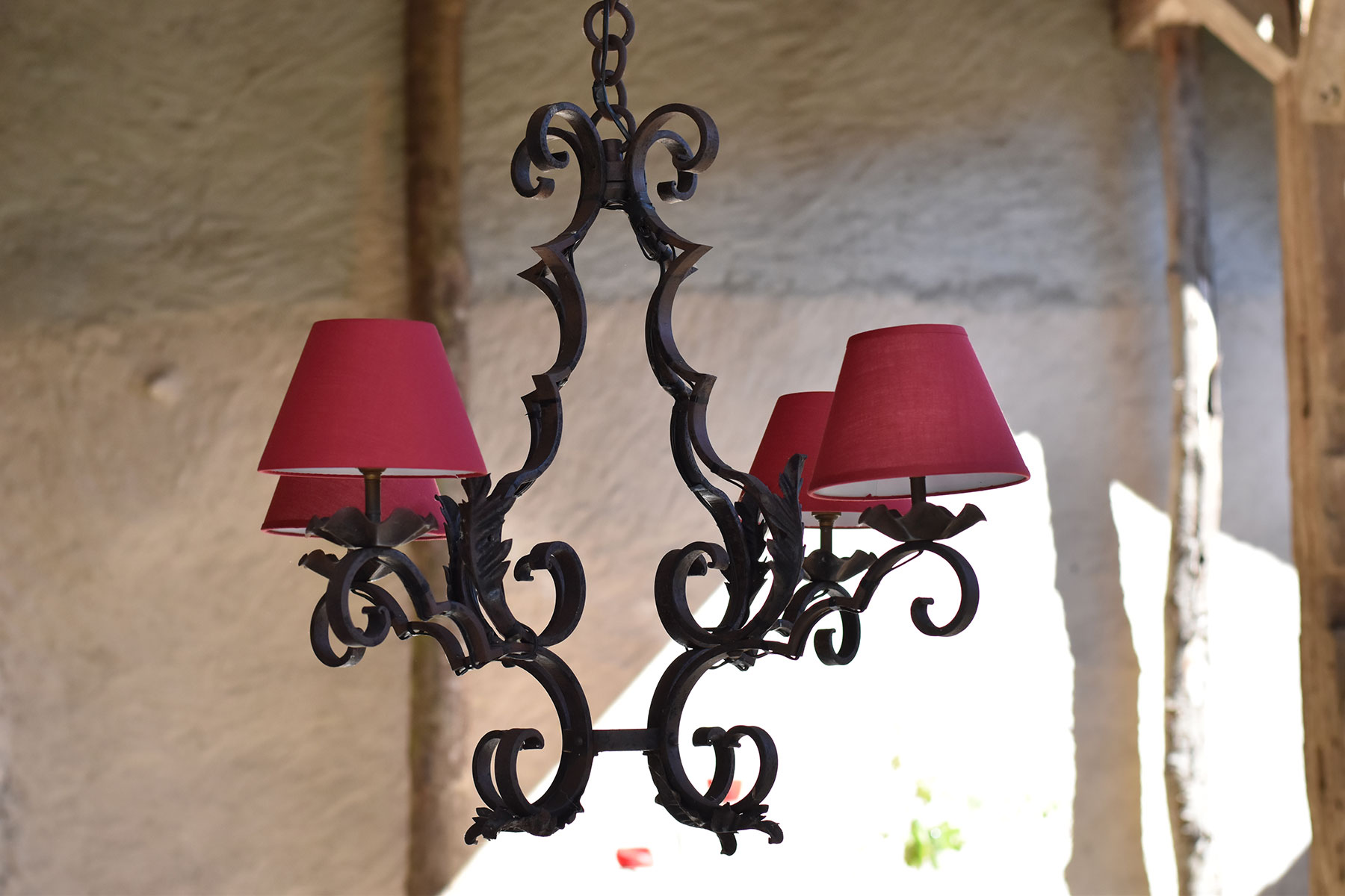 french interior design rustic chandelier