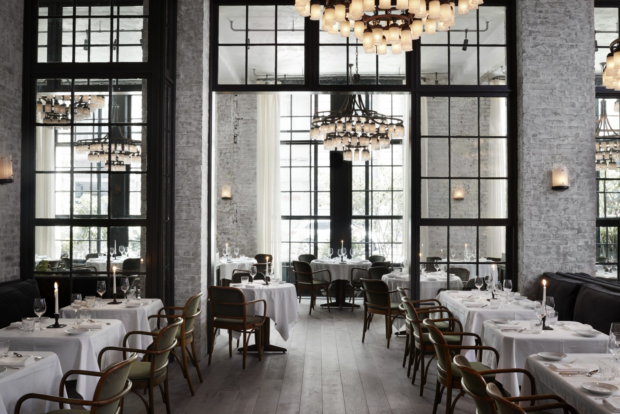 Le Coucou NYC restaurant interior design